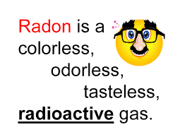 radon gas in homes